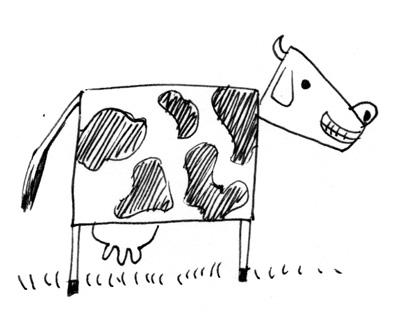 vache carree