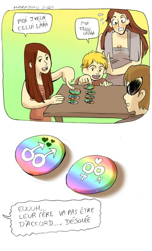 badges yaoi yuri et enfants