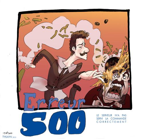 erreur 500