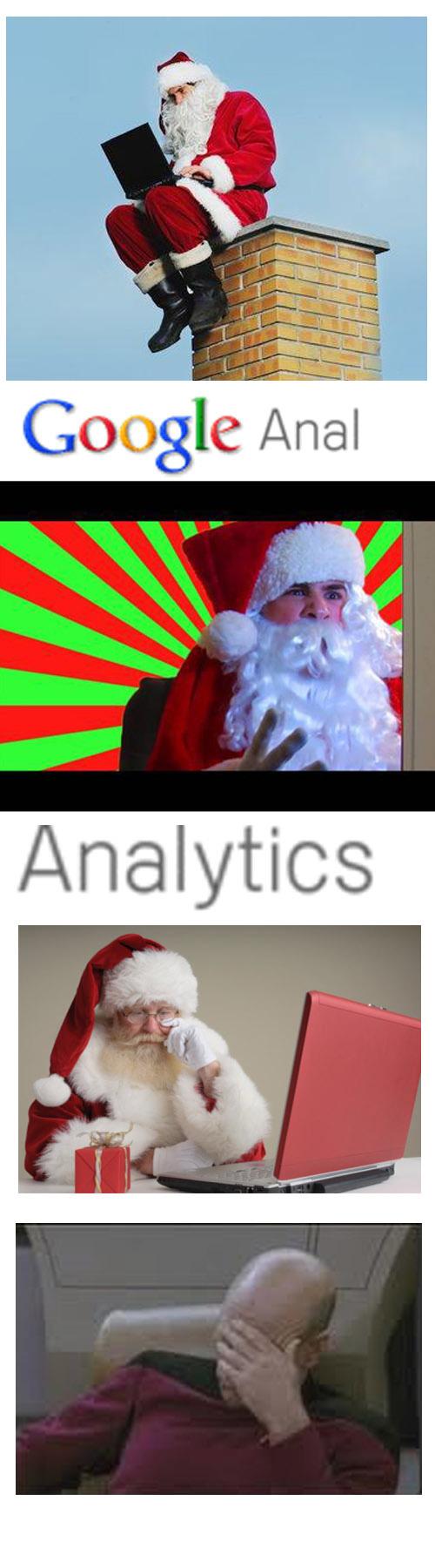 santa vs google anal