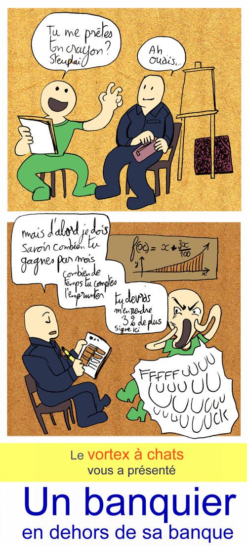 banquier cours de dessin