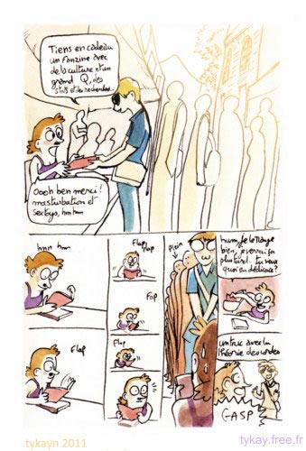 marion montaigne et le fanzine q4