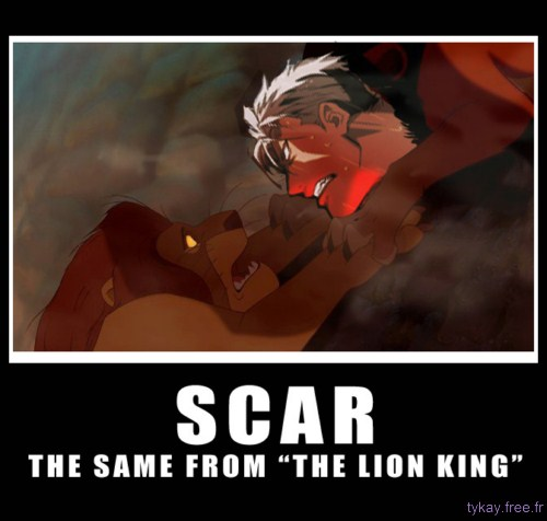 Scar fullmetal alchemist and the lion king