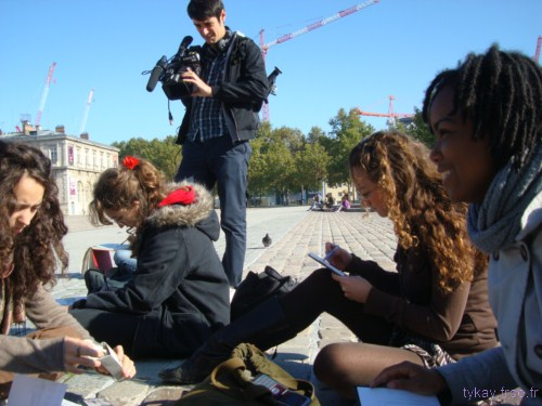 photo sketchcrawl la villette 1