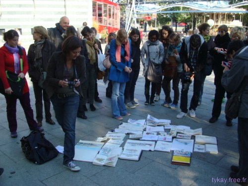 photo sketchcrawl la villette 2