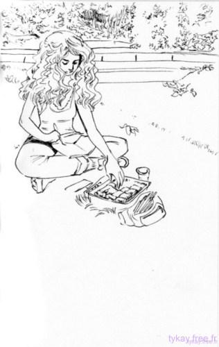 dessin petite vadrouille parc de bercy sarah par tykayn