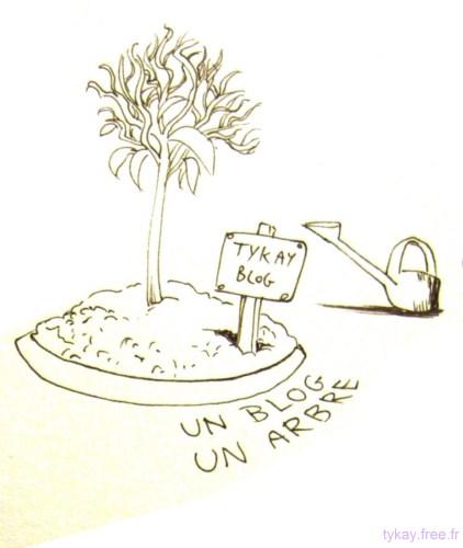 un blog un arbre