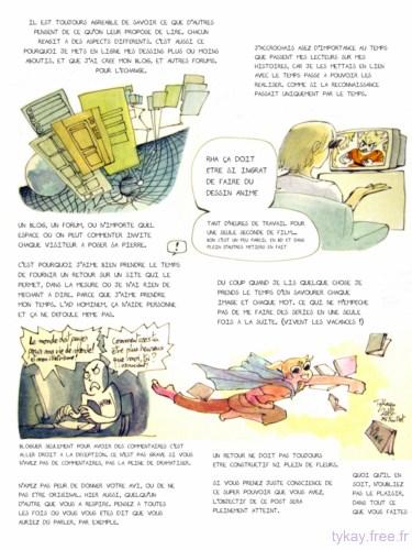 page 2, savoir donner des retours et en recevoir