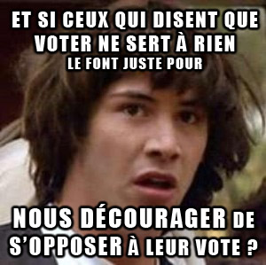 keanu paranoid vote strategie
