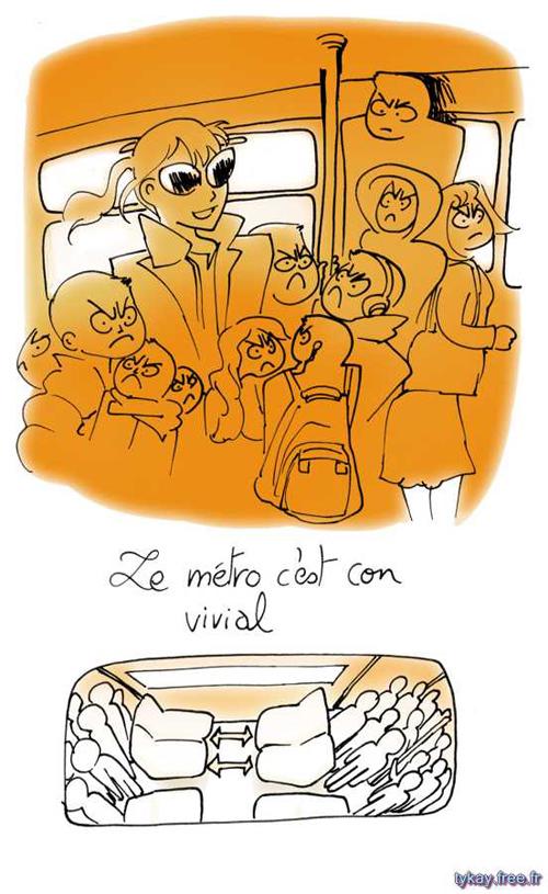 metro 1 intro c est con vivial